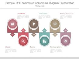 Example Of E Commerce Conversion Diagram Presentation Pictures