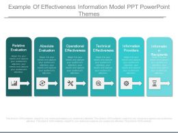 Example Of Effectiveness Information Model Ppt Powerpoint Themes