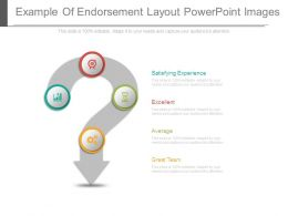Example Of Endorsement Layout Powerpoint Images