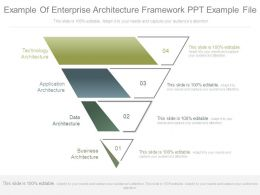 Example Of Enterprise Architecture Framework Ppt Example File
