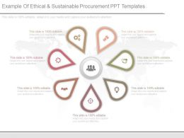 Example Of Ethical And Sustainable Procurement Ppt Templates