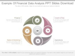 Example Of Financial Data Analysis Ppt Slides Download