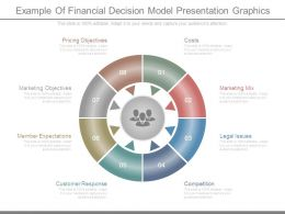 Example Of Financial Decision Model Presentation Graphics