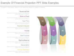 Example Of Financial Projection Ppt Slide Examples