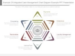 Example Of Integrated Cash Management Chart Diagram Example Ppt Presentation