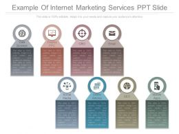 Example Of Internet Marketing Services Ppt Slide
