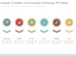 Example Of Modern Communication Technology Ppt Slides