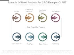 Example Of Need Analysis For Cro Example Of Ppt
