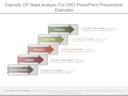 Example Of Need Analysis For Cro Powerpoint Presentation Examples