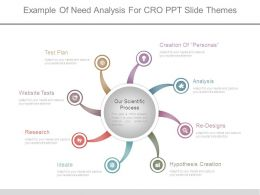 Example Of Need Analysis For Cro Ppt Slide Themes