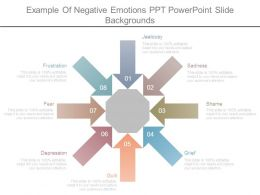 Example Of Negative Emotions Ppt Powerpoint Slide Backgrounds