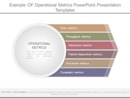 Example Of Operational Metrics Powerpoint Presentation Templates