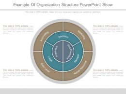Example Of Organization Structure Powerpoint Show