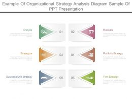 Example Of Organizational Strategy Analysis Diagram Sample Of Ppt Presentation