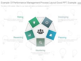 Example Of Performance Management Process Layout Good Ppt Example