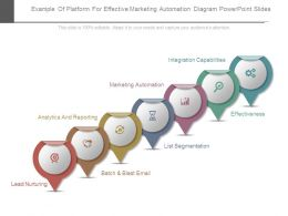 Example Of Platform For Effective Marketing Automation Diagram Powerpoint Slides