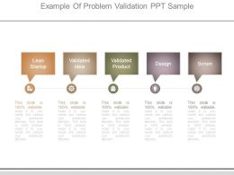 Example Of Problem Validation Ppt Sample