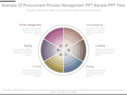 Example Of Procurement Process Management Ppt Sample Ppt Files