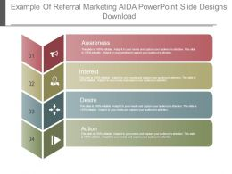 Example Of Referral Marketing Aida Powerpoint Slide Designs Download