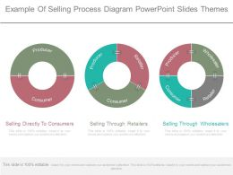 Example Of Selling Process Diagram Powerpoint Slides Themes