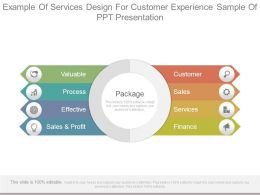 Example Of Services Design For Customer Experience Sample Of Ppt Presentation