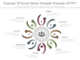 Example Of Social Media Template Example Of Ppt