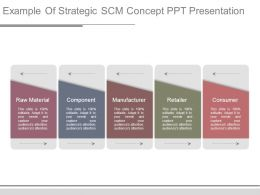 Example Of Strategic Scm Concept Ppt Presentation