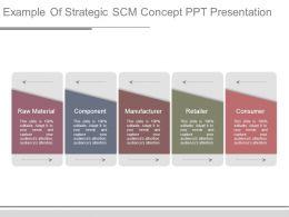 Example Of Strategic Scm Concept Ppt Presentation