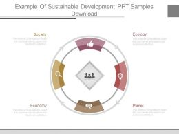 Example Of Sustainable Development Ppt Samples Download