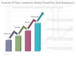 Example Of Team Leadership Models Powerpoint Slide Background