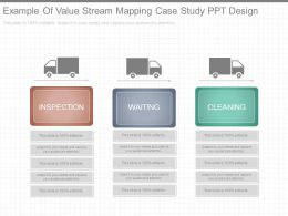 Example Of Value Stream Mapping Case Study Ppt Design