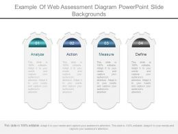 Example Of Web Assessment Diagram Powerpoint Slide Backgrounds