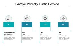 Example Perfectly Elastic Demand Ppt Powerpoint Presentation Show Images Cpb