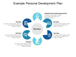 Example Personal Development Plan Ppt Powerpoint Presentation Inspiration Slides Cpb