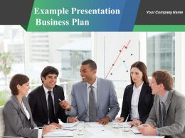 Example Presentation Business Plan Powerpoint Presentation Slides