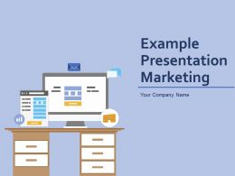 Example Presentation Marketing Powerpoint Presentation Slides