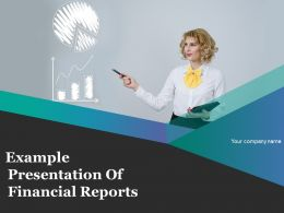 Example Presentation Of Financial Reports Powerpoint Presentation Slides