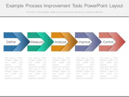 Example Process Improvement Tools Powerpoint Layout