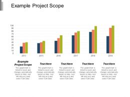 Example Project Scope Ppt Powerpoint Presentation Model Background Designs Cpb