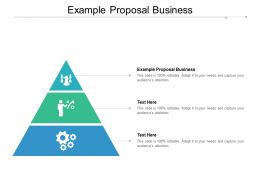 Example Proposal Business Ppt Powerpoint Presentation Model Graphics Design Cpb