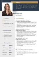 Example Resume Template With Professional And Technical Skills