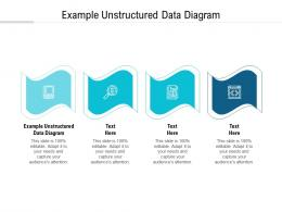 Example Unstructured Data Diagram Ppt Powerpoint Presentation Infographic Template Graphics Tutorials Cpb