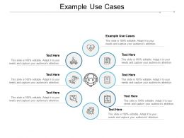 Example Use Cases Ppt Powerpoint Presentation Ideas File Formats Cpb