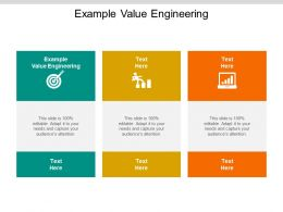 Example Value Engineering Ppt Powerpoint Presentation Formats Cpb