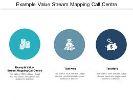 Example Value Stream Mapping Call Centre Ppt Powerpoint Presentation Infographic Template Cpb