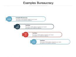 Examples Bureaucracy Ppt Powerpoint Presentation Layouts Microsoft Cpb