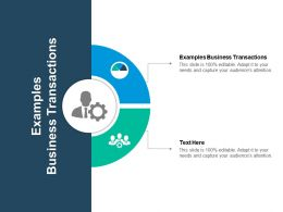 Examples Business Transactions Ppt Powerpoint Presentation Show Background Designs Cpb