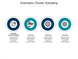 Examples Cluster Sampling Ppt Powerpoint Presentation Show Smartart Cpb