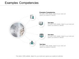 Examples Competencies Ppt Powerpoint Presentation Icon Guide Cpb