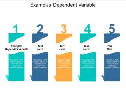 Examples Dependent Variable Ppt Powerpoint Presentation Outline Slide Download Cpb